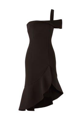 Modern Black Dress by Keepsake