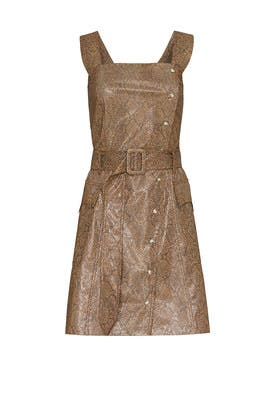 Snake Print Lorena Dress by Nanushka