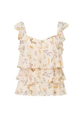Floral Alexis Top by Rebecca Minkoff