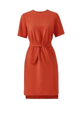 Rust Vernaza Dress by TY-LR
