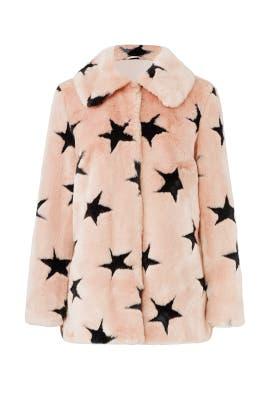 Faux Fur Swing Coat by Avec Les Filles