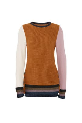 Almeria Button Side Sweater by Apiece Apart