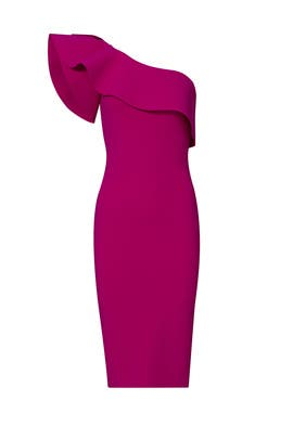 Magenta Elisse Dress by La Petite Robe di Chiara Boni
