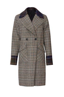 Glen Plaid Coat by NVLT