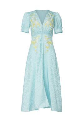 Blue Lea Dress by SALONI