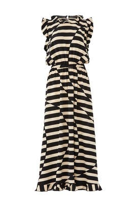 Striped Liberty Dress by STINE GOYA