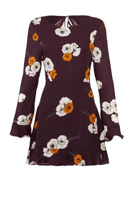 Aubergine Leena Dress by cupcakes and cashmere