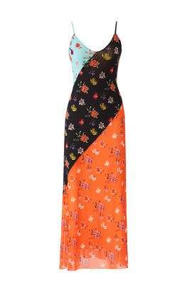 Floral Patchwork Maxi by Fuzzi