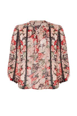 Eber Silk Blouse by Joie