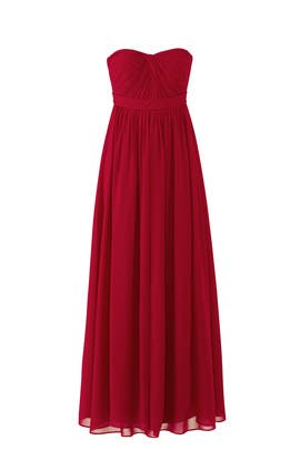 Red Aidan Gown by Jenny Yoo