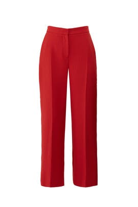 Red Adriana Trousers by L.K. Bennett