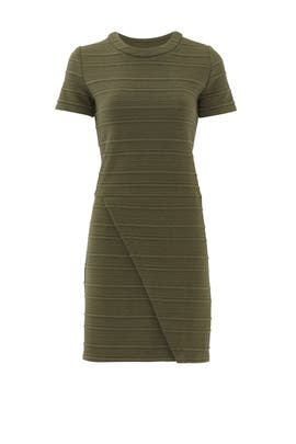 Olive Envelope Shift by Slate & Willow
