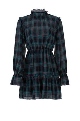 Zone Tartan Dress by The Fifth Label