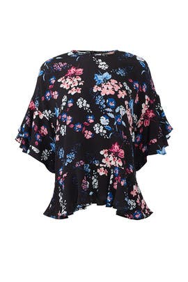 Autumn Flower Blouse by byTiMo