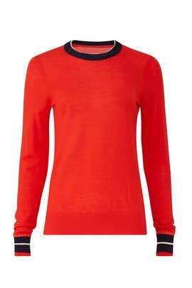 Relaxed Trim Crewneck by Victoria Victoria Beckham