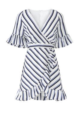 Visual Pursuit Striped Dress by BB Dakota