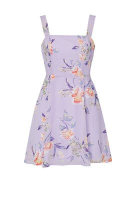 Floral Tie Back Dress by Louna