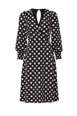Printed Polka Dot Dress by 1901