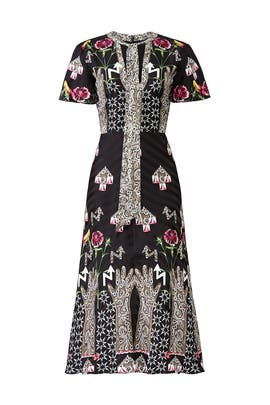 Flux Midi Dress by Temperley London