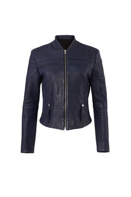 Speed Leather Jacket by VEDA
