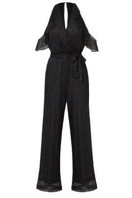 Black Wrap Jumpsuit by Waverly Grey