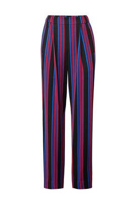 Stripe Soft Pants by Diane von Furstenberg