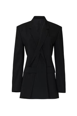Slashed Lapel Jacket by Haider Ackermann