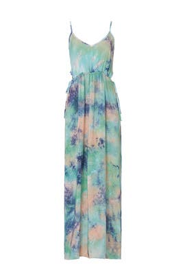Blue Tie Dye Maxi by Louna