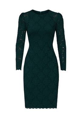 Dextara Puff Sleeve Dress by Lauren Ralph Lauren