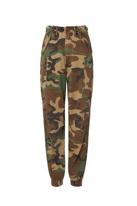 Camo Cargo Joggers by R13