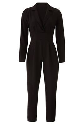 Cropped Tailored Jumpsuit by Slate & Willow
