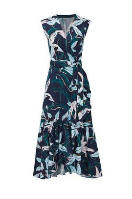 24686a25a60 Bloom Print Wrap Dress by Tory Burch for $70 - $80 | Rent the Runway