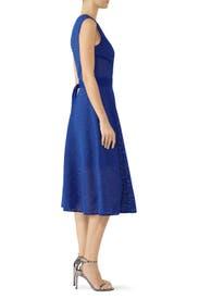 Cut Out Lace Midi Dress by PINKO