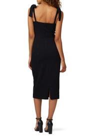 Black Leighton Dress by Hunter Bell