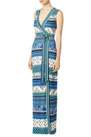 New Yahzi Maxi Wrap Dress by Diane von Furstenberg