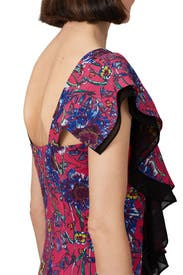 Floral Ruffle Dress by Prabal Gurung Collective