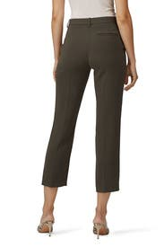 Classic Green Tailored Trousers by Theory