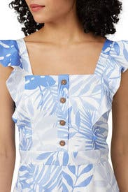 Palm Printed Romper by Slate & Willow
