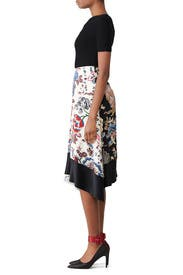 Two Tone Marie Skirt by Tory Burch