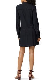 Black Lace Shift Dress by Derek Lam 10 Crosby