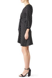 Polka Dot Tie Waist Dress by Slate & Willow