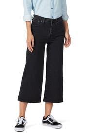Lunar Wide Leg Crop Jeans by Madewell