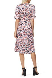 Puff Sleeve Midi Dress by Slate & Willow