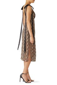 Vegas Python Printed Dress by Goen. J