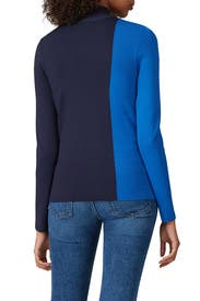 Knit Colorblock Turtleneck by Tory Sport