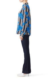 Long Sleeve Collared Shirt by Diane von Furstenberg