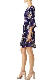 Astrid Floral Apron Wrap Dress by B Collection by Bobeau
