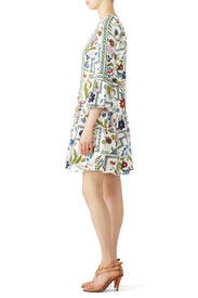 Ivory Meadow Daphne Dress by Tory Burch