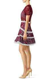Burgundy Rustikan Dress By Alexis For 85 100 Rent