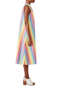 Multi Stripe Shirtdress by MDS Stripes